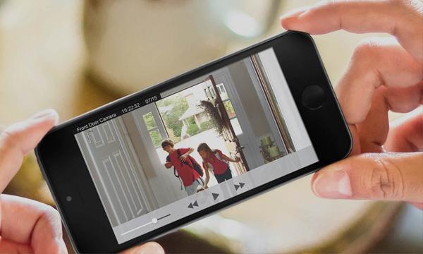 automação cameras